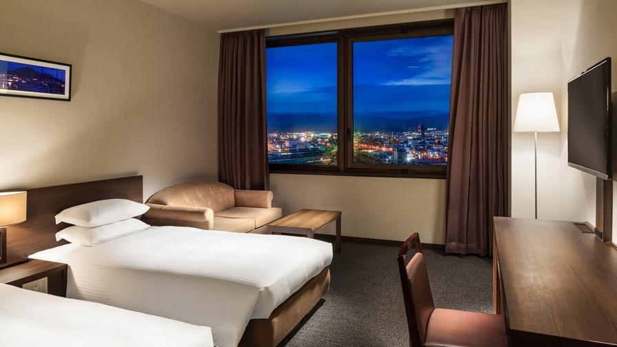 【最上階確約】お部屋から函館夜景を満喫!室数限定の早い者勝ち<食事なし>