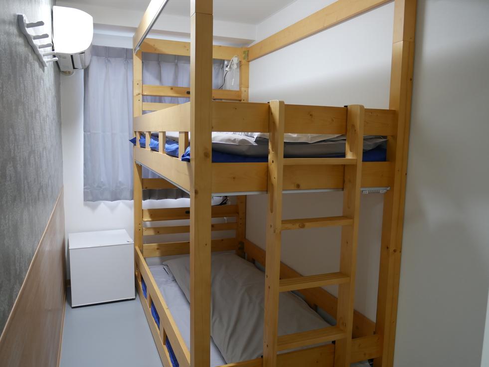 リニューアル2段ベッドツインルーム