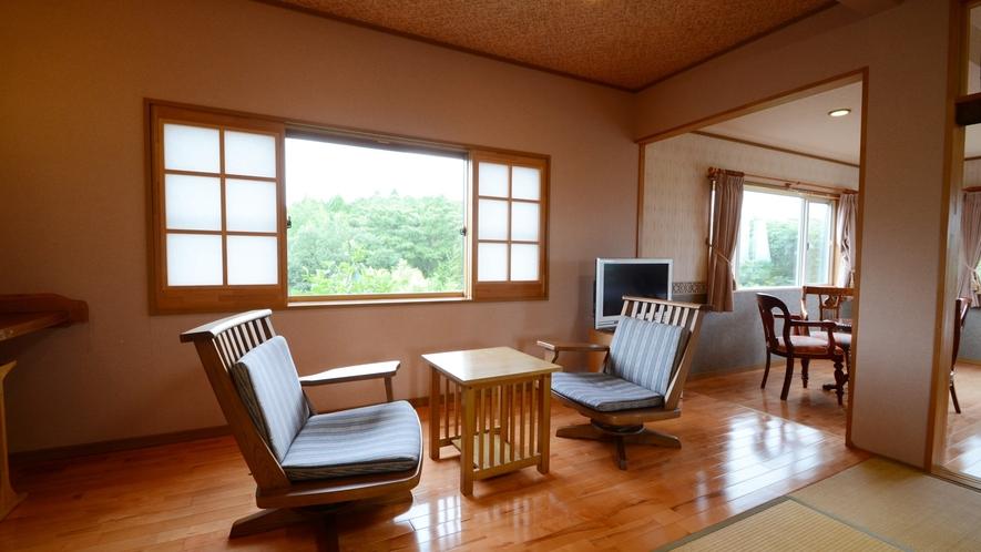 【特別プレミア和洋室】和と洋のいいとこどり!優雅なひと時をお過ごしください。