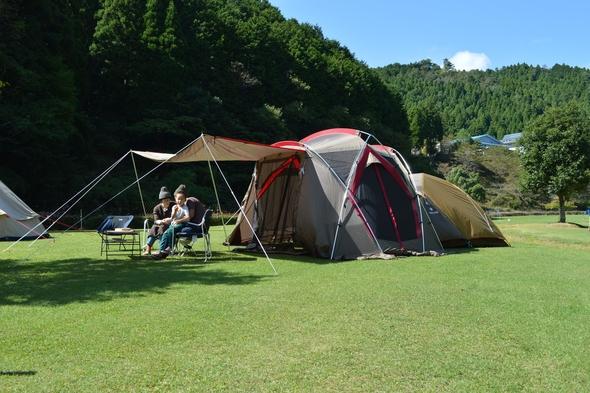 京都丹波高原国定公園内でキャンプ!★大自然に囲まれ、星空満喫★あやべ温泉入浴割引券付き