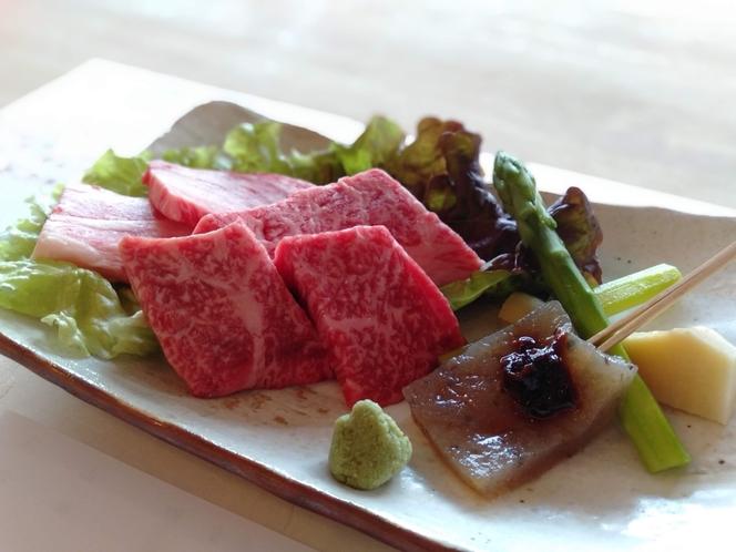 京都牛の陶板(イメージ)