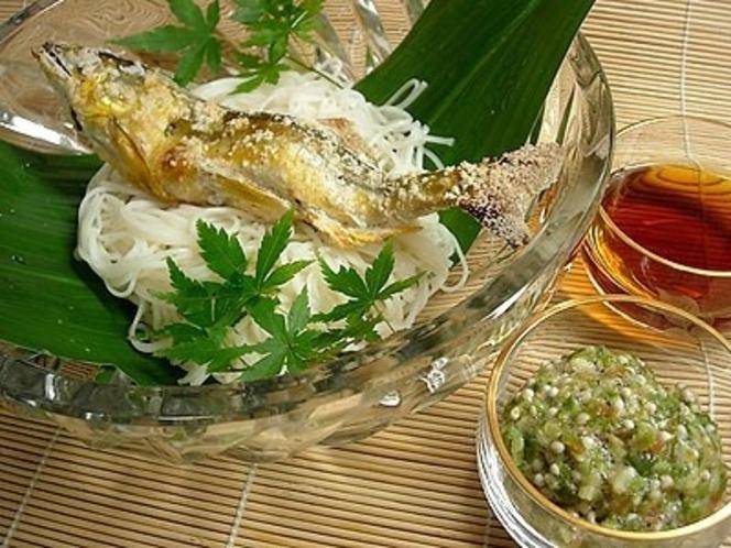 鮎素麺(イメージ)