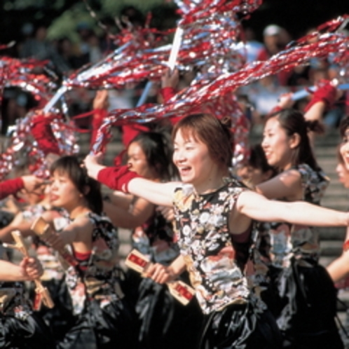 日本のYOSAKOI三大祭りの一つ♪パワフルな踊りは必見!【みちのくYOSAKOI祭り】
