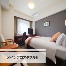 当ホテルで一番ベッドサイズが大きい客室。広いベッドをご希望のお客様にオススメ☆
