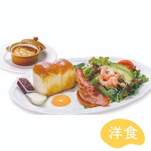 朝食(洋プレート)ドリンクバー