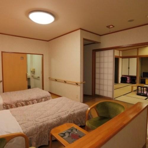 2階バリアフリー対応客室