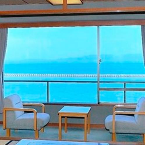 海向き和室