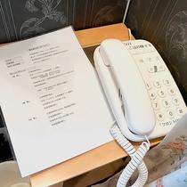 ・全棟共通/内線電話 お困りの際はフロントまで♪
