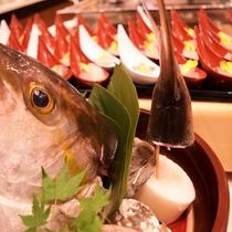 ★朝食バイキング★鮮魚舟盛