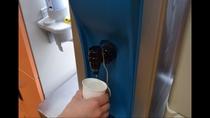 大浴場の脱衣所にウォーターサーバーを設置しています。