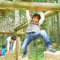 【六甲山フィールドアスレチック】家族みんなで楽しめる♪