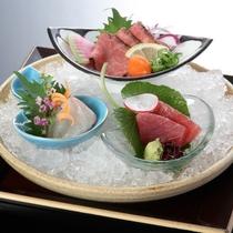 ~ 旬魚2種、神戸牛ロースト ~