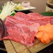 【鍋 物】神戸牛と山菜のしゃぶしゃぶ