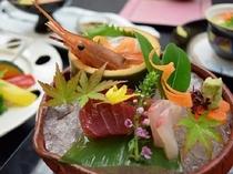 【造り】 旬魚4種盛り