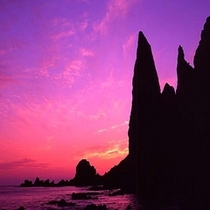 *礼文島 地蔵岩