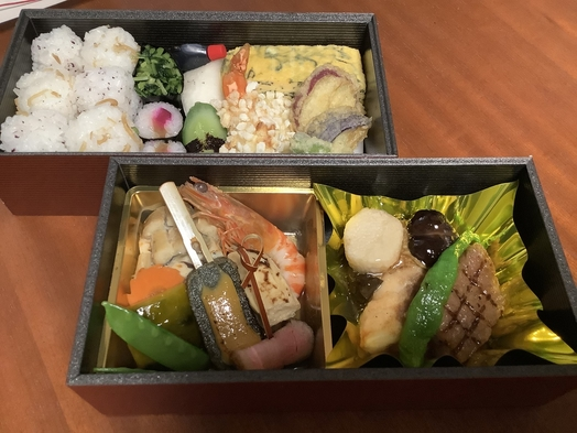 【1泊夕食&朝食付】祇園花咲の京懐石弁当夕食が禿庵で食べれます(夜の外食による3蜜対策に!)