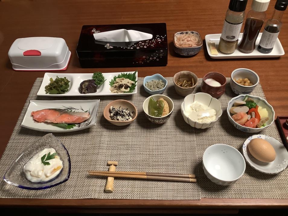 【朝食無料】女将手作り主体の和朝食