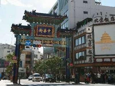 中華街・東門(朝陽門)