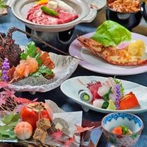 【お食事一例】伊豆の味覚を存分に味わえる豪華特別コースです♪
