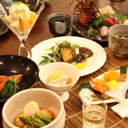 【ご夕食一例】伊豆ならではの味覚をお楽しみください。