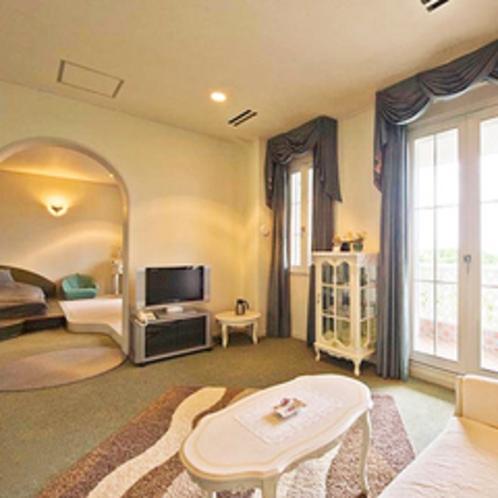 【3F洋室】リビングとベッドルームが分かれたお部屋です。