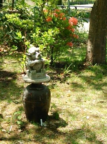 庭の番人ガーゴイル