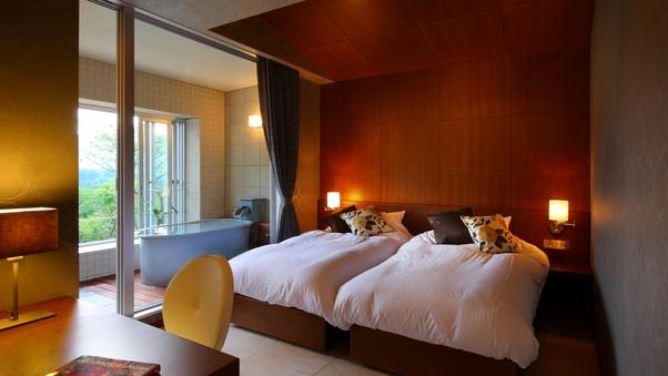 202楼|洋室+天然温泉半露天風呂54平米