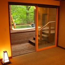 限定1室【露天風呂付き】洋室