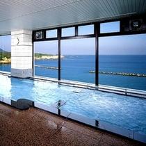 男女展望大浴場からは太平洋を一望できます