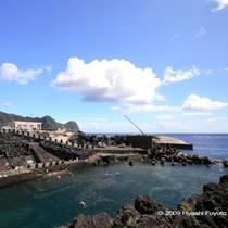 八重根旧漁港跡プール