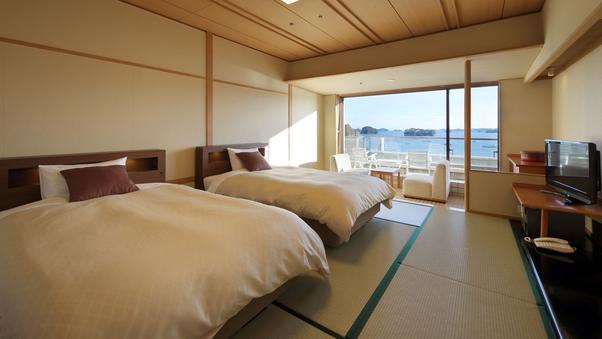 海側和室ツインルーム(禁煙)