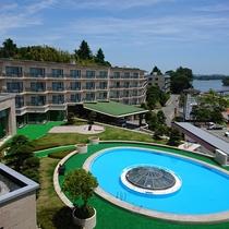 松島センチュリーホテル外観