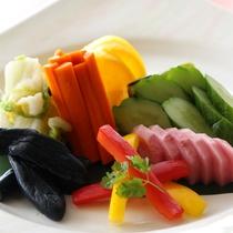 松島産野菜のお漬物