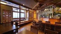 和食処「楽楽」店内の様子