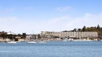 松島湾から望むマツシマセンチュリーホテル