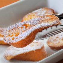 朝食 焼き立てふわふわ 「フレンチトースト」