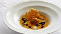 夕食「プリフィックスメニュー」一例 野菜料理