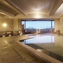 松島温泉「絹肌の湯」大浴場