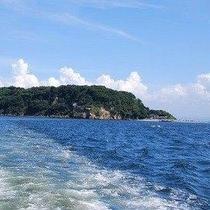 東京湾唯一の無人島猿島