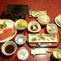豊後牛ステーキ150gのステーキ御膳◆豊後牛がメインとなるお料理。ごはんもおかわりできます。