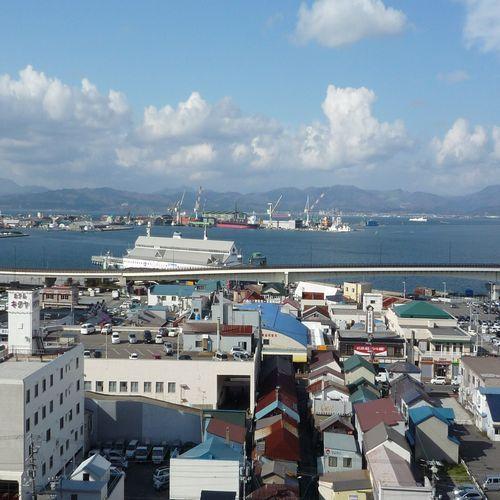 眺望良し!函館港方面