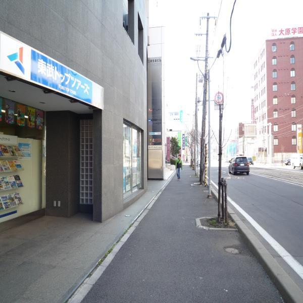 8.旅行会社「東武トップツアーズ」さんを通り過ぎると・・