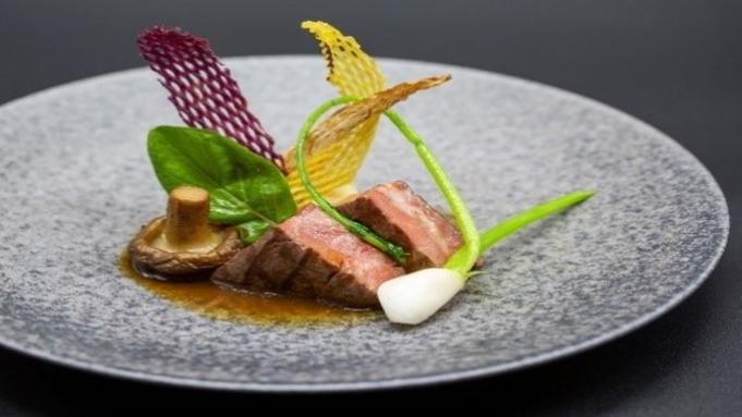 【豪華食材をちりばめた贅沢フルコース】神戸牛やフォワグラなどを味わう美食ディナー全8品 <2食付>