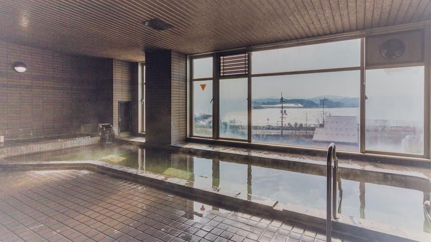 別館3階の展望温泉大浴場