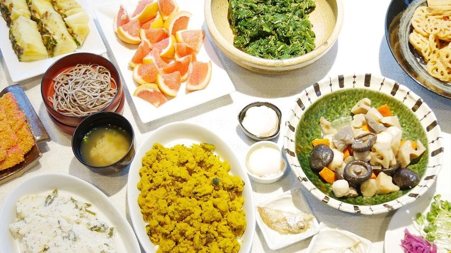 【人気の朝食バイキング】和食メニューも豊富にございます