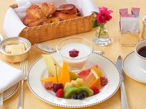 ルームサービス朝食 フルーツブレックファスト イメージ