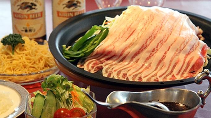 シェフおすすめ♪ボリューム満点&ヘルシーな豚バラ肉焼きシャブをご夕食で!約30種類の朝食バイキング付
