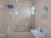 バスタブのある洗面所