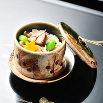 ■懐石料理(秋一例)お食事