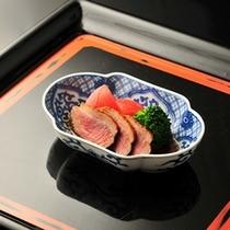 ■別注料理(一例)合鴨ロース煮